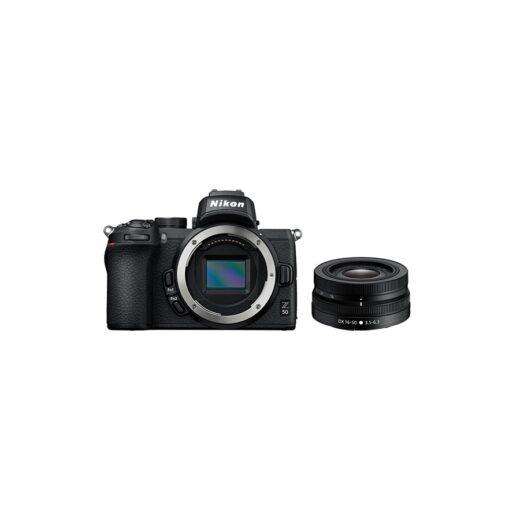 Cámara Evil Nikon Z50 + Objetivo DX 16-50 mm VR, Kit   VOA050K1