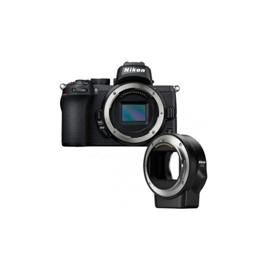 Cámara Evil Nikon Z50 + Adaptador FTZ,