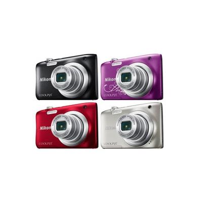 Cámara Compacta Nikon Coolpix A100 Negra Kit | 999A100B1