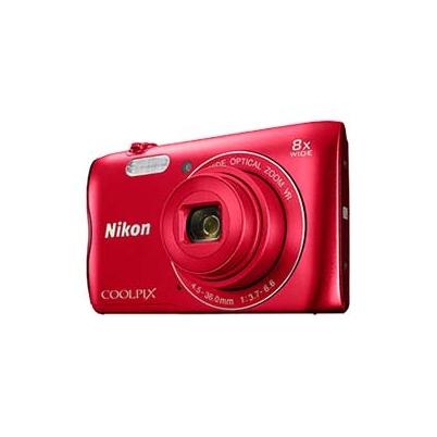 Nikon Cámara Compacta Coolpix A300 Roja
