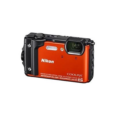 Nikon Cámara Compacta Coolpix W300 Naranja Kit Holiday Sumergible 30 mts