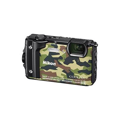 Camara Compacta - Nikon Coolpix W300 Camuflaje Kit Holiday Sumerg. 30 mts | VQA073K001