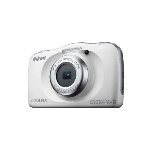 Cámara Compacta Nikon Coolpix W150 Blanco Kit Sumergible 10 mts | VQA110K001