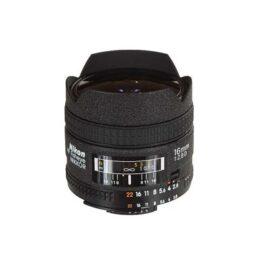 Objetivo - Nikon FX AF    16mm F2.8 FISHEYE