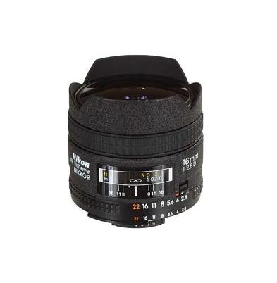 Objetivo - Nikon FX AF    16mm F2.8 FISHEYE | 144605