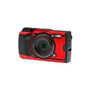 Camara Compacta - Olympus TG-6 Roja Sumergible 15 mts | V104210RE000