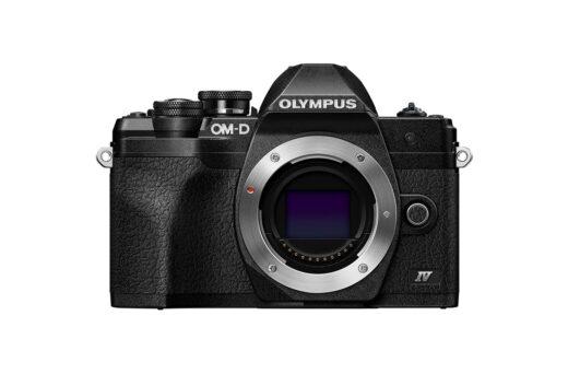 Camara Evil - Olympus OM-D E-M10 Mark IV Negra Cuerpo | V207130BE000