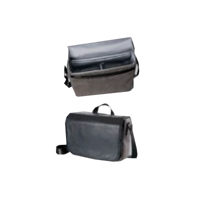 Olympus Bolso para cámaras OM-D Messenger Bag Piel Negra