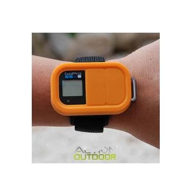 Action Outdoor Funda Silicona para mando tipo GoPro Naranja