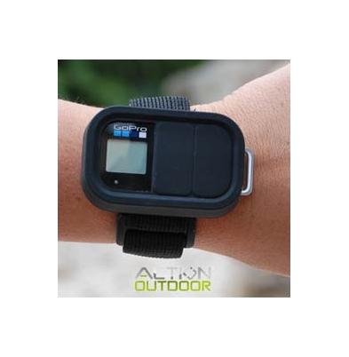 Funda - Action Outdoor Silicona para mando tipo GoPro Negro | 15406