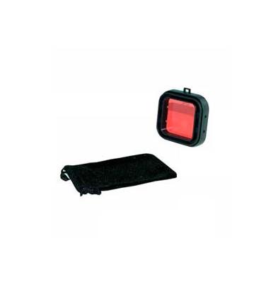 Filtro Subacuático Action Outdoor Rojo Deluxe marco negro
