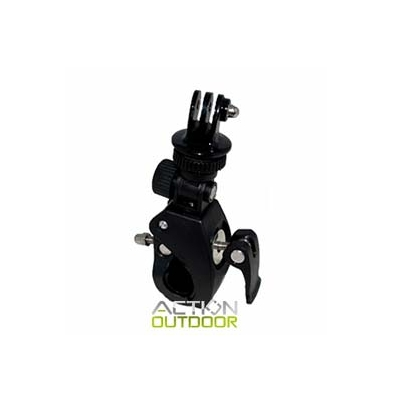 Soporte Tubular - Action Outdoor Tubular rosca + Adaptador tripode | 7447