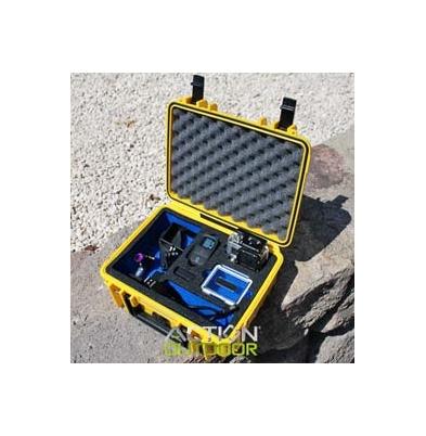 Action Outdoor Maleta Estanca Amarillo 25x17,7x6,7+2,7cm