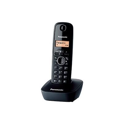 Teléfono inalámbrico Panasonic TG1611 Negro + Base
