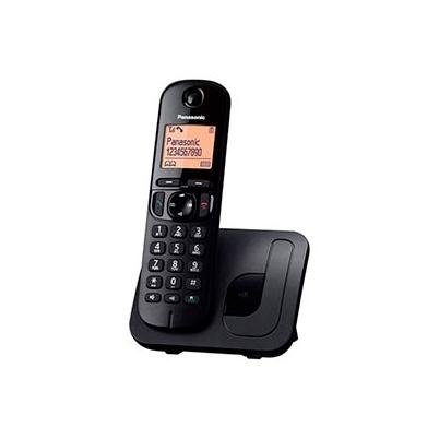 Telefono inalambrico - Panasonic TGC210 Negro con Base | KX-TGC210SPB