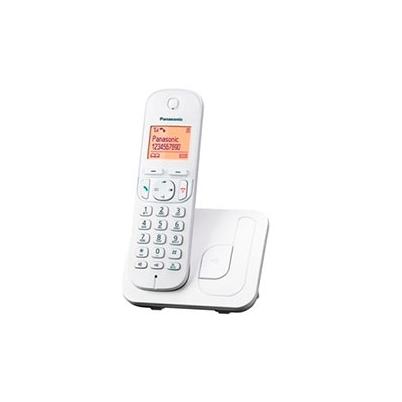 Teléfono inalámbrico Panasonic TGC210 Blanco con Base | KX-TGC210SPW