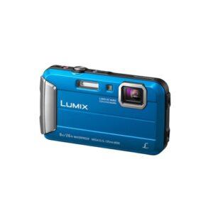 Camara Compacta - Panasonic Lumix FT30 Azul Sumergible 8 mts | DMC-FT30EG-A