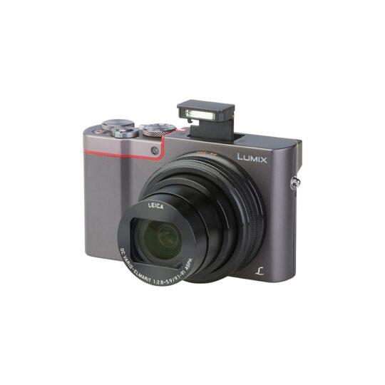 Cámara Compacta Panasonic Lumix TZ100EG Plata Pack Premium TZ (sds)