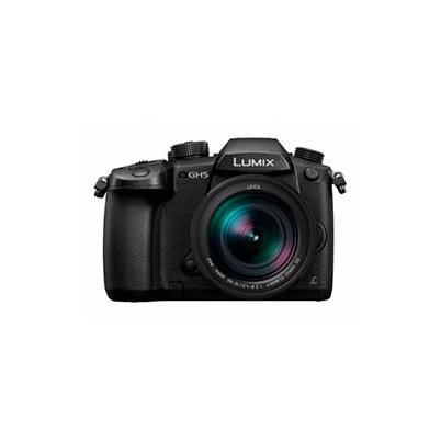 Cámara Evil Panasonic Lumix GH5MEC-K Negra Objetivo12-60mm + 25mm F1.7 + Bolso
