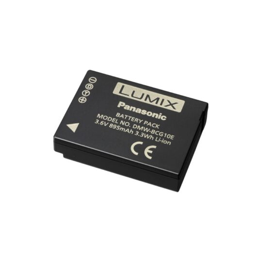 Panasonic Batería BCG10E 3.6V, 895mAh, 3.3Wh