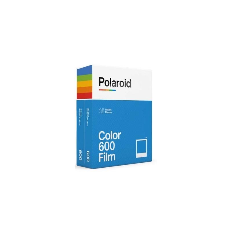 Polaroid PX 600 Película Instant Color Bipack 16 fotos
