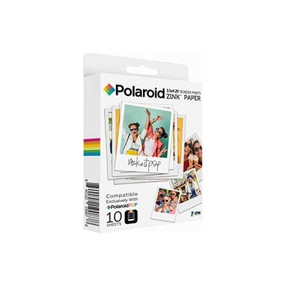 Papel Instant Polaroid Zink Pop 7,6x10 cm 10 Fotos | PLPF008