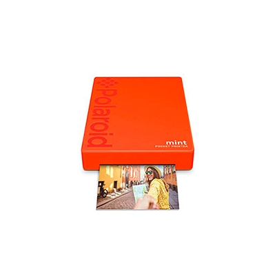 Impresora Polaroid MINT Mobile Roja incluye papel pack 10 fotos