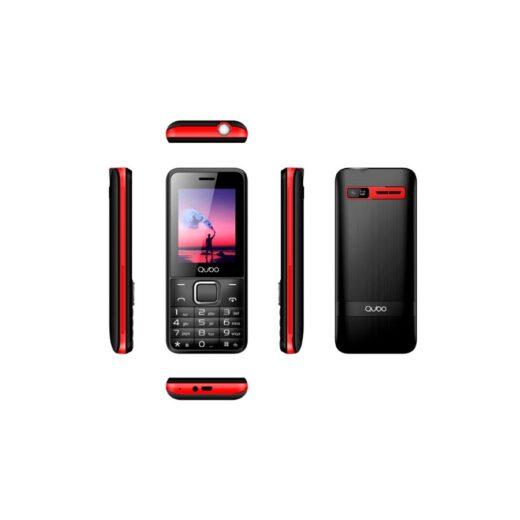 Telefono movil - Qubo X-229RD Rojo   X-229RD