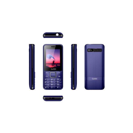 Teléfono Móvil Qubo X-229Dark Azul Oscuro