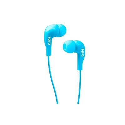 Auricular SBS StudioMix 10, Estéreo, Micrófono y Botón respuesta Azul