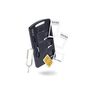 Kit Adaptador - SBS para tarjetas SIM Nano, Micro, Standard con Extractor | TEKITSIMADAPTK