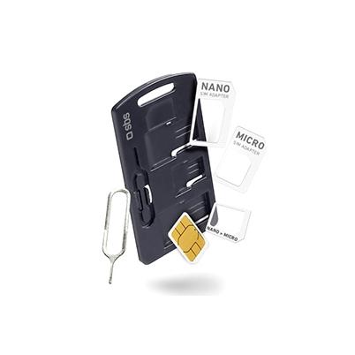Kit Adaptador SBS para tarjetas SIM Nano, Micro, Standard con Extractor