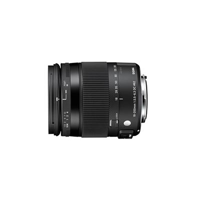 Objetivo - Sigma Canon 18-200mm F3.5-6.3 DC OS Macro HSM Contemporary | SIAU660