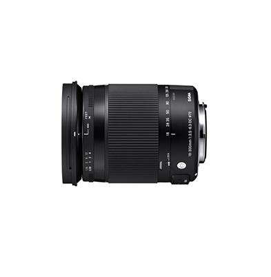 Objetivo - Sigma Canon 18-300mm F3.5-6.3 DC OS Macro HSM Contemporary | SIAU670
