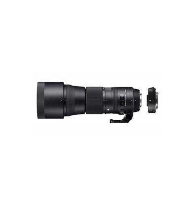 Objetivo Sigma Canon 150-600mm f/5-6.3 DG OS HSM Sports + Teleconvert. TC1401