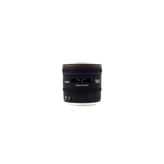 Sigma Nikon Objetivo Pro 4.5mm f/2.8 EX DC Circular