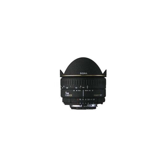Sigma Nikon Objetivo Pro 15mm f/2.8 EX DG Diagonal