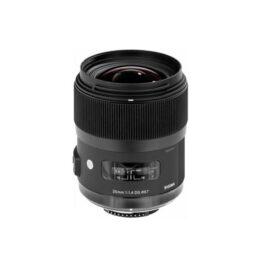 Objetivo - Sigma Nikon Pro     35mm F1.4 DG HSM ART