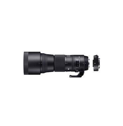 Sigma Nikon Objetivo 150-600mm f/5-6.3 DG OS HSM Sports + Teleconvert. TC1401