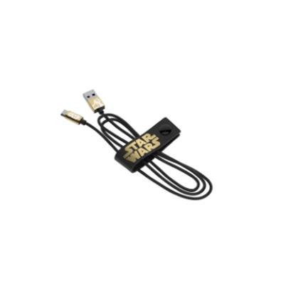 Silverht Cable Usb MicroUSB Star Wars BB8 Gold 1,2 mts