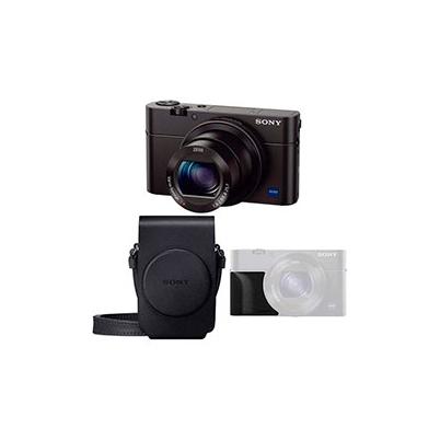 Camara Compacta - Sony DSC-RX100 M3G Negra Kit Empuñadura | DSCRX100M3G.CE3