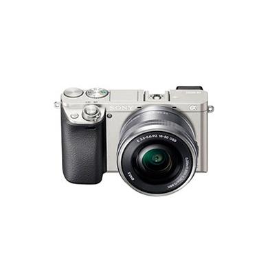 Sony Cámara Evil Alpha ILCE-6000LS Plata Objetivo 16-50mm