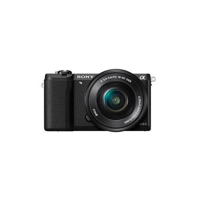 Sony Cámara Evil Alpha ILCE-5100L Negra Objetivo 16-50mm