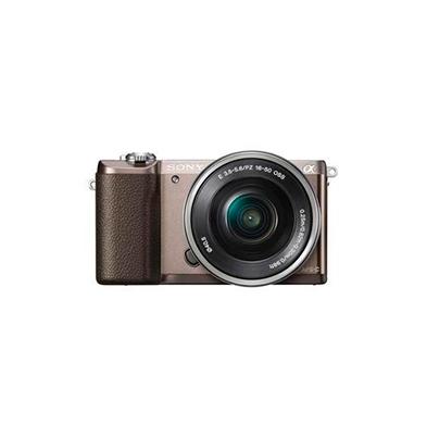Camara Evil - Sony Alpha ILCE-5100L Marron Objetivo 16-50mm | ILCE5100LT.CEC
