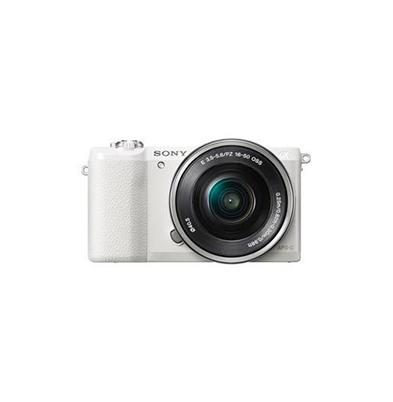 Camara Evil - Sony Alpha ILCE-5100L Blanca Objetivo 16-50mm | ILCE5100LW.CEC