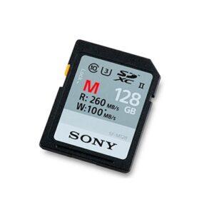 Tarjeta Memoria - SDXC 128Gb Sony Prof. UHS-II R260 W100 C10   SFG1M
