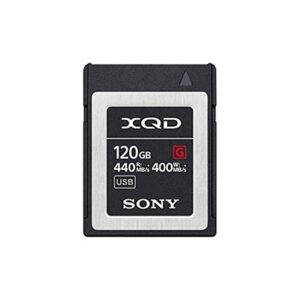 Tarjeta Memoria - XQD 120Gb Sony High Speed Prof. R440 W400 | QDG120F