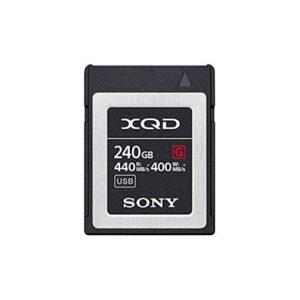 Tarjeta Memoria - XQD 240Gb Sony High Speed Prof. R440 W400 | QDG240F