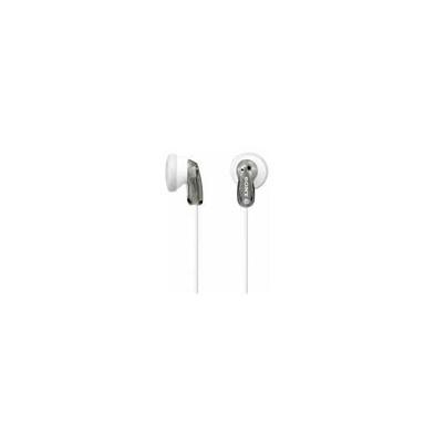 Sony Auricular MDR-E9LP Gris 18Hz-22kHz, 16 ohmios, cable 1,2 mts