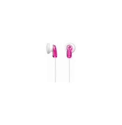 Sony Auricular MDR-E9LP Rosa 18Hz-22kHz, 16 ohmios, cable 1,2 mts